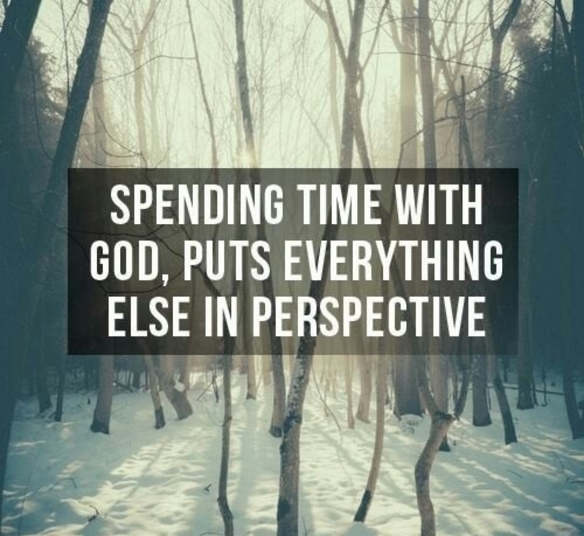 Spending time with God. Submitted by Waterbaby