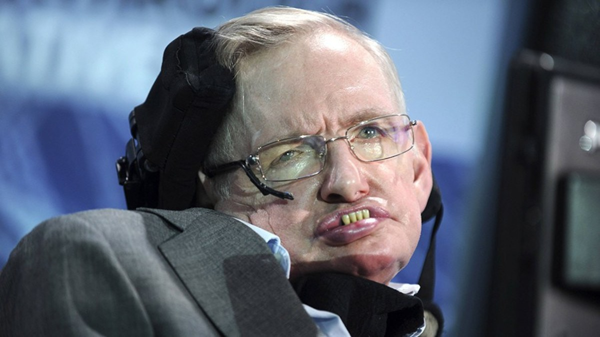 Stephen Hawking, physicist