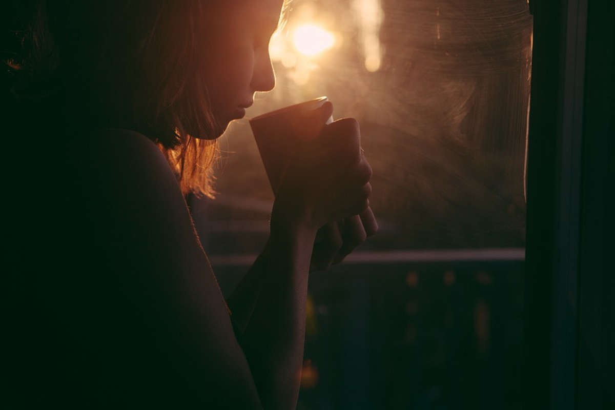 The smallest comfort, like hot tea or coffee, can bring relief when done mindfully