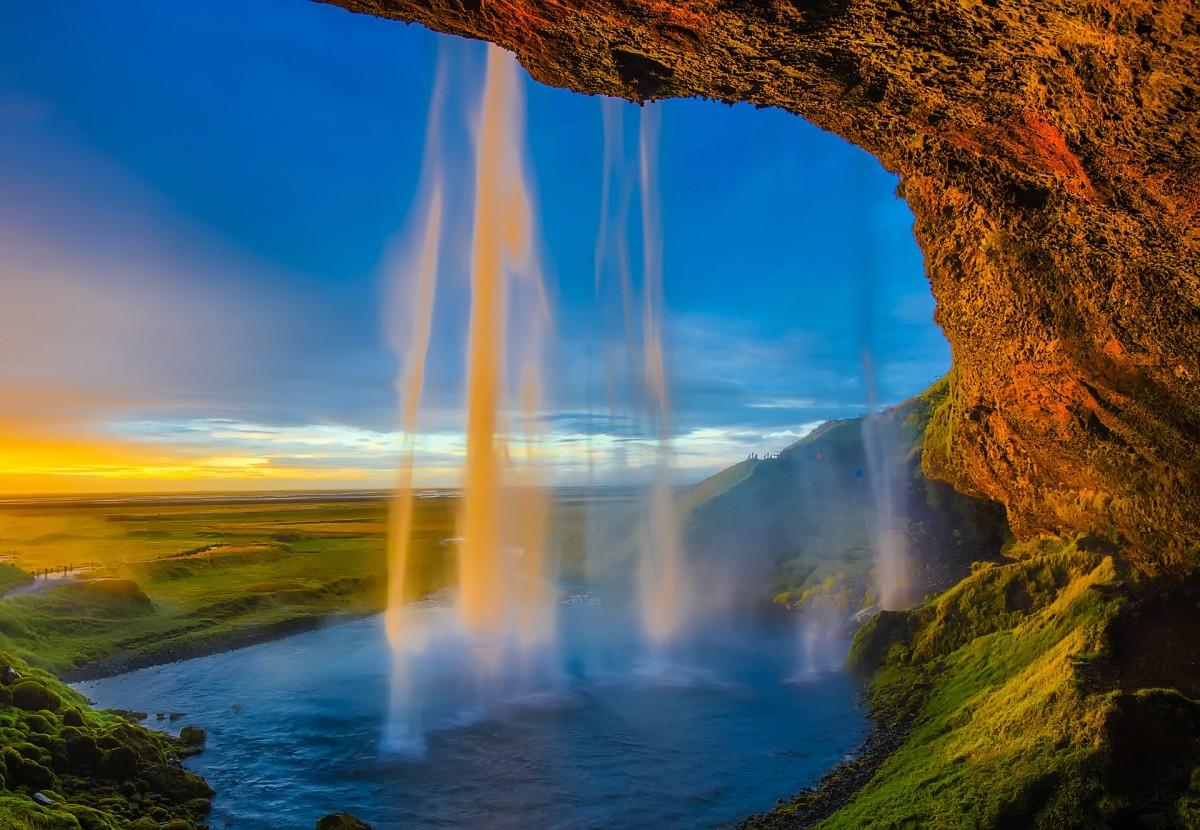 The waterfall in Euran