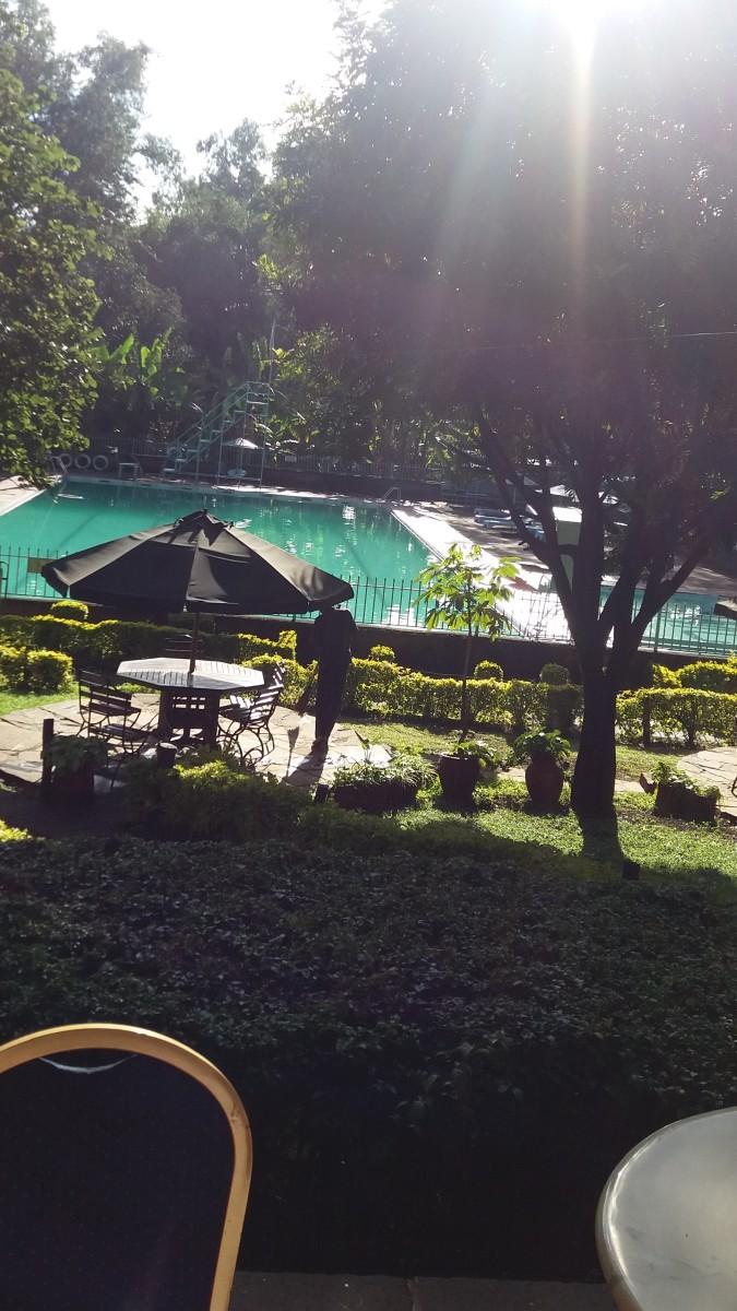 YMCA terrace view, Nairobi