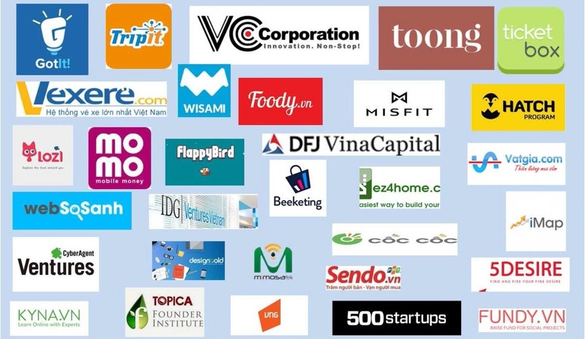 Some Vietnam's startup brands