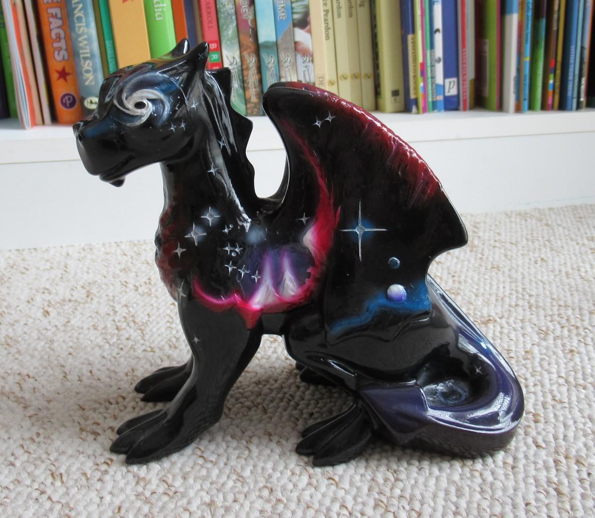 Miniature Draco Guarding the House