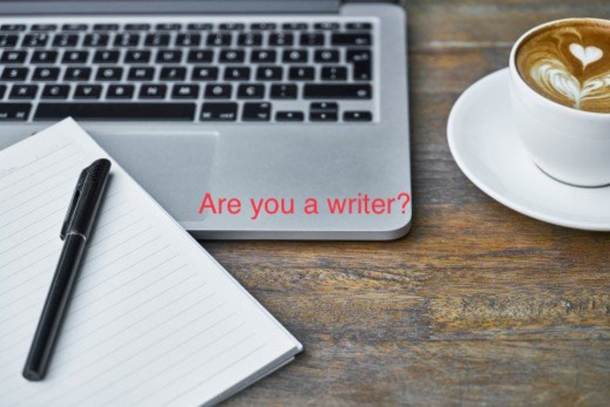 A day in the life of a writer.