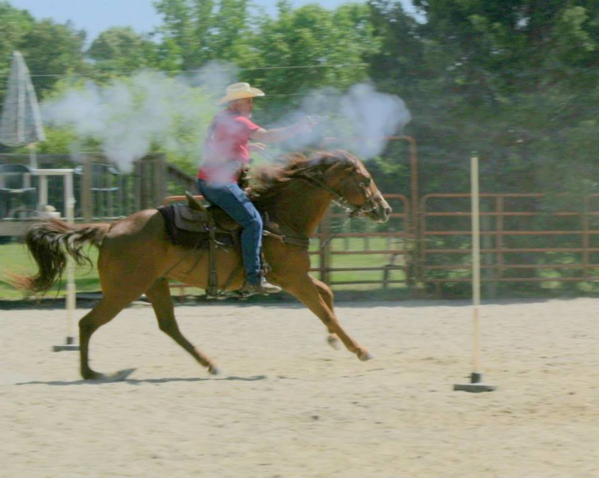 A cowboy's life could be violent occasionally.