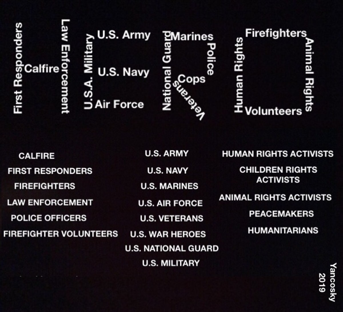 Thank you, Brave Heroes!