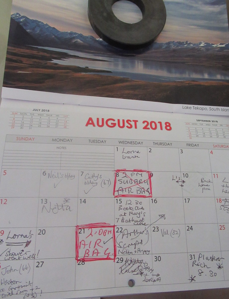 Busy Month on the Calendar
