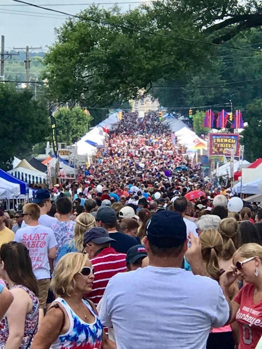 The Americana Festival Centerville Ohio
