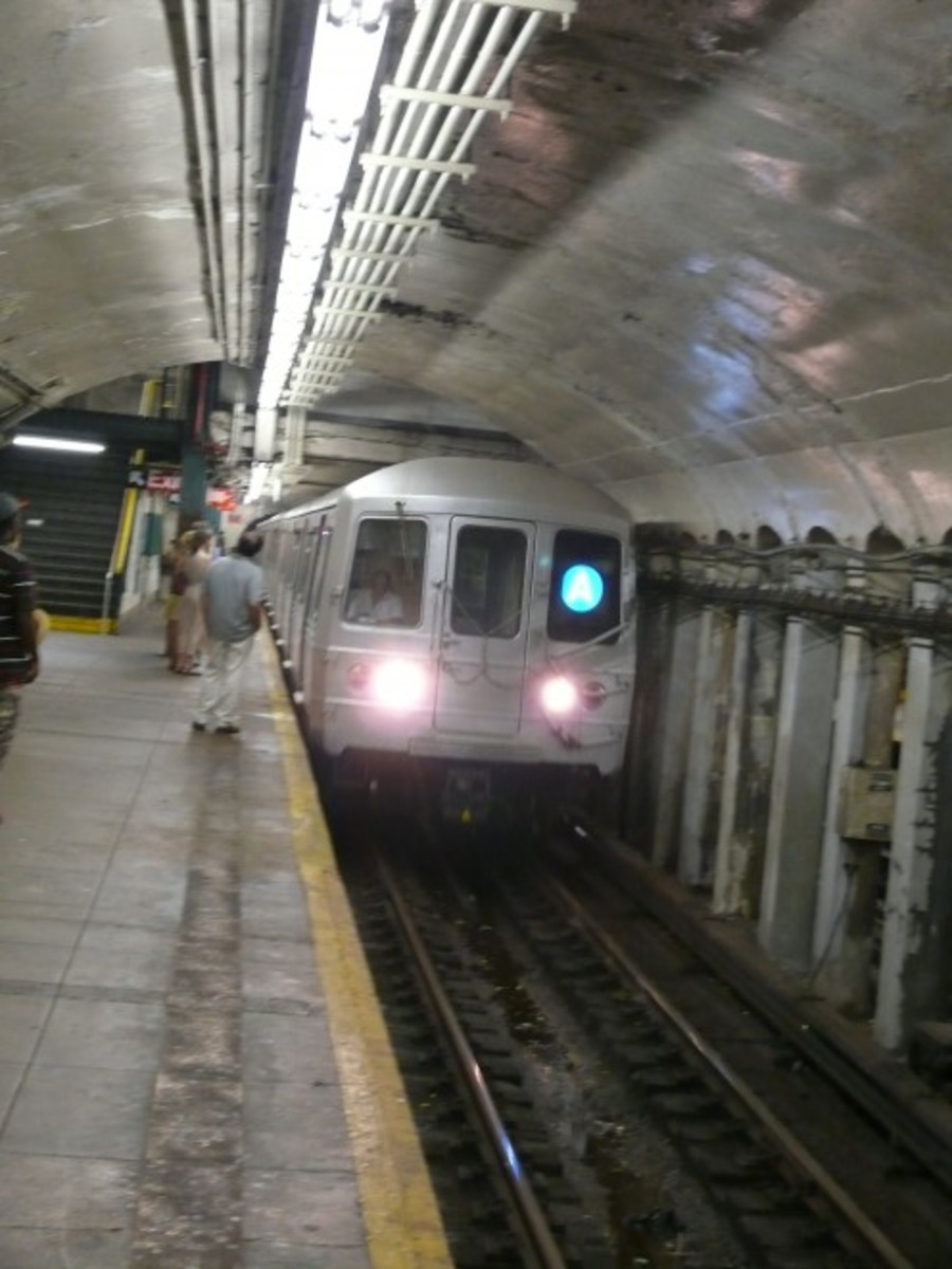 The A Eighth Avenue Express is a rapid transit service of the New York City Subway runs from 207th Street in Inwood, Manhattan, to Mott Avenue in Far Rockaway, Queens.