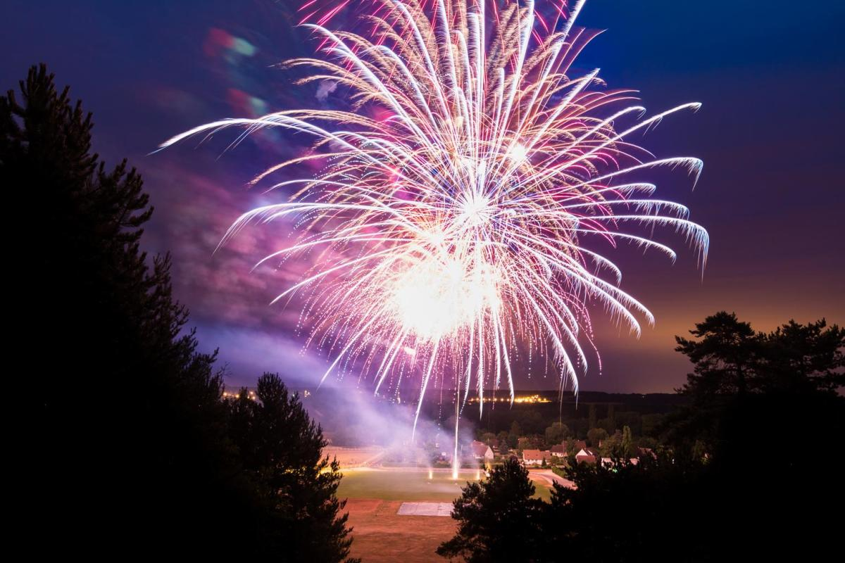Summer nights mean fun events such as the fireworks display(s) at most Fourth of July Celebrations.