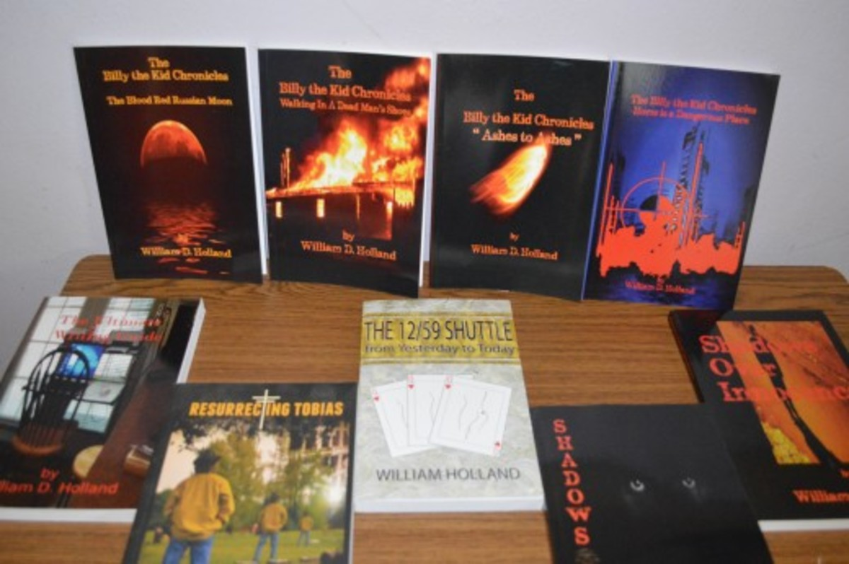 Books that Bill authored