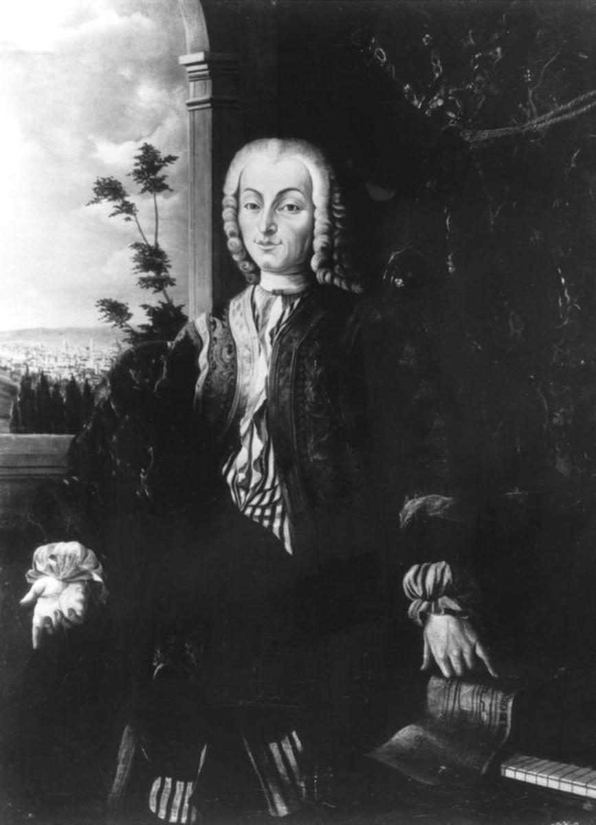 Bartolomeo Cristofori, inventor of the piano, made in the 1700's in Florence, Italy.