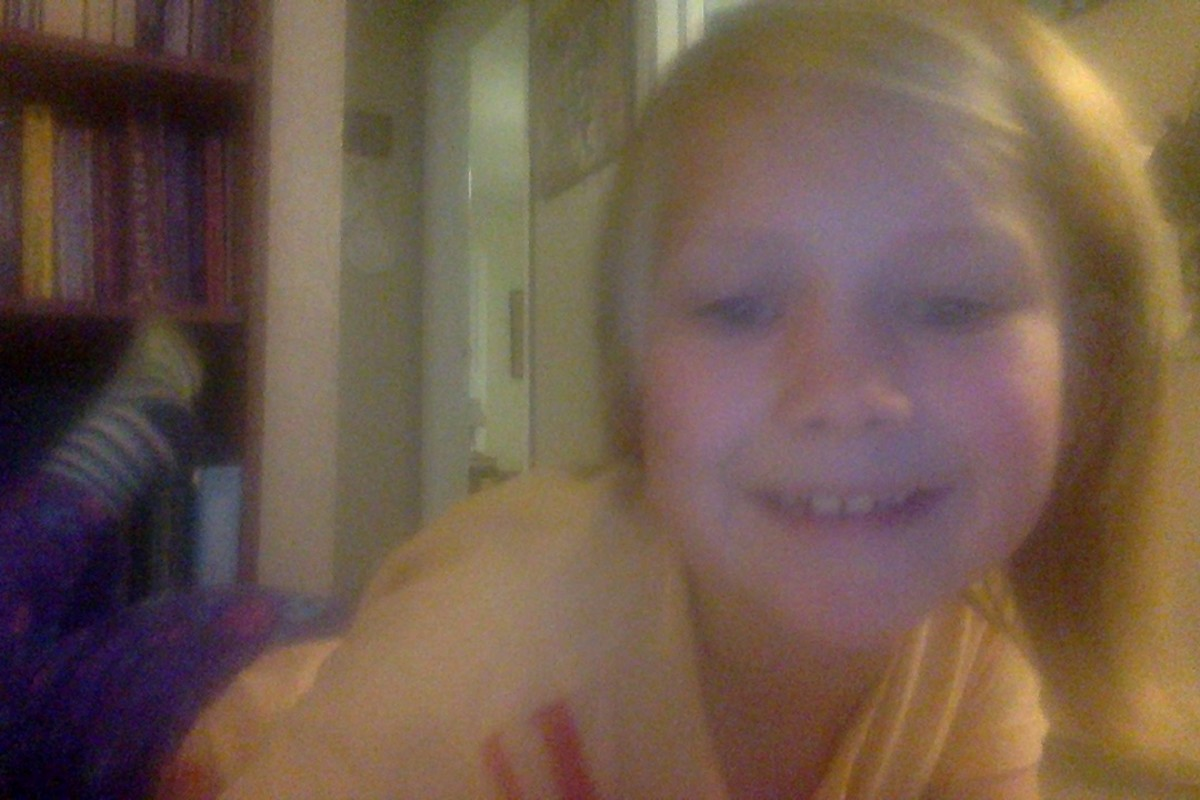 Hannah is in second grade!