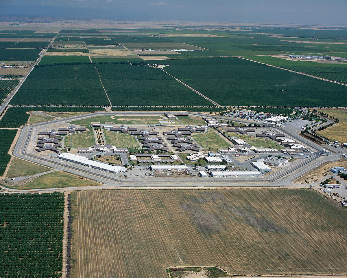 An areal view of a Female correctional facility