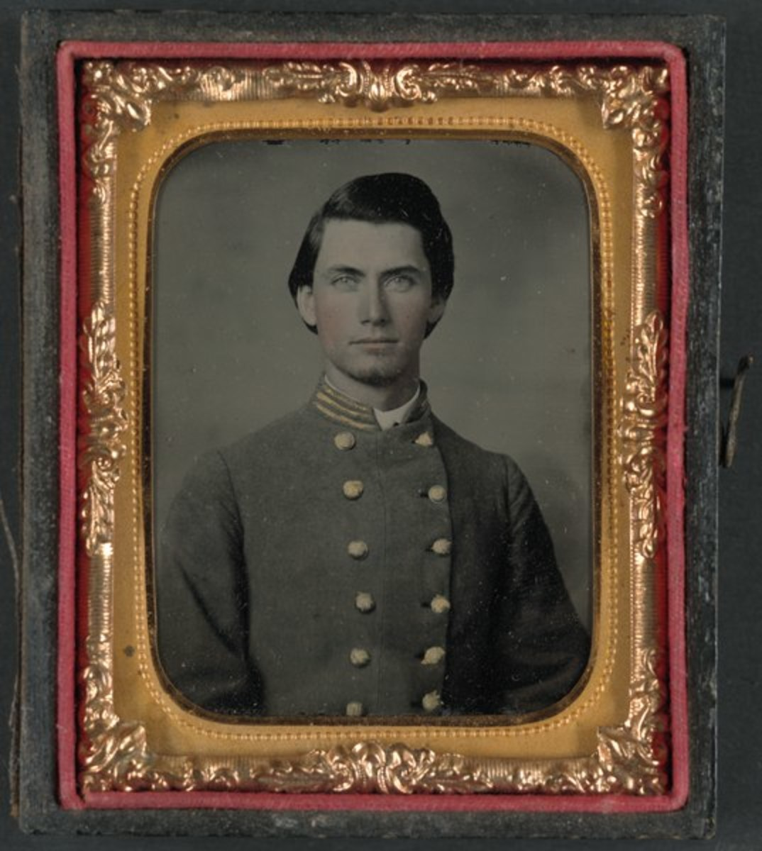 Unidentified Confederate Captain