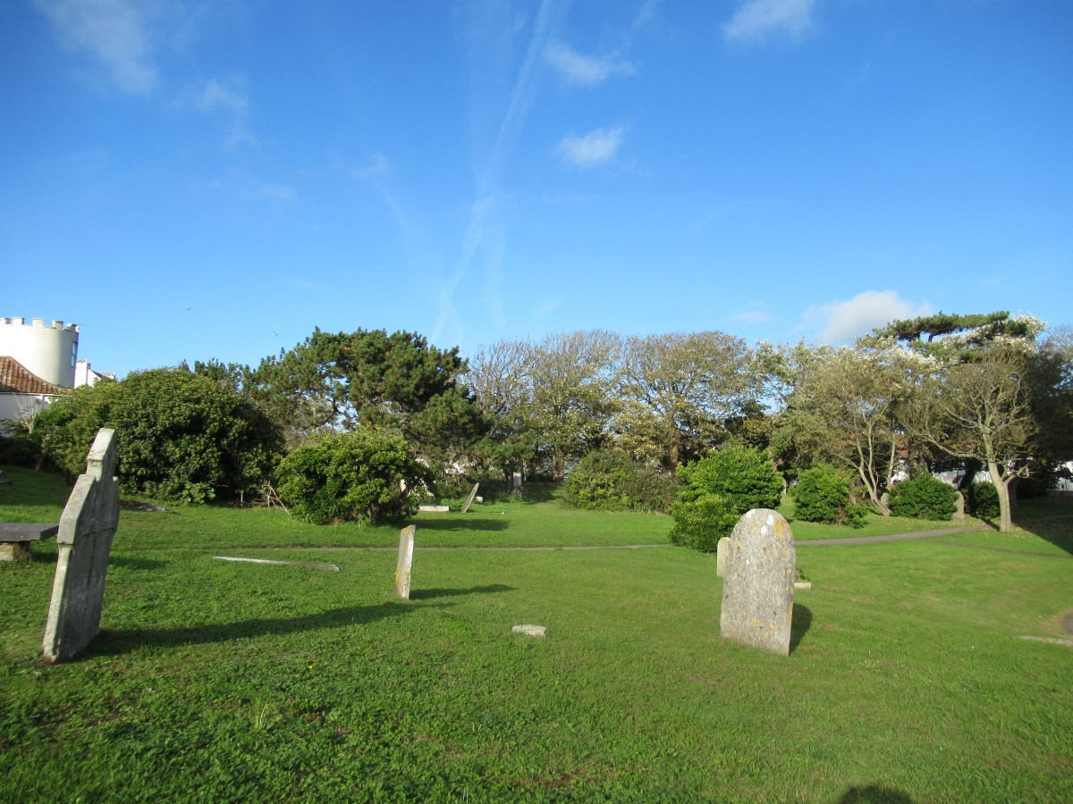 Headstones in the Grass