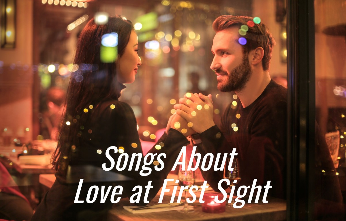 When you meet that special someone, something just clicks. Celebrate the magic of love at first sight with a playlist of pop, rock, country, and R&B songs about the subject.