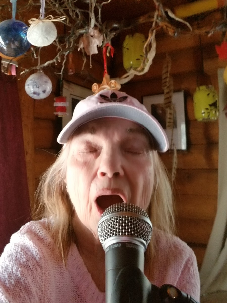 Singing keeps me centered and frees my spirit