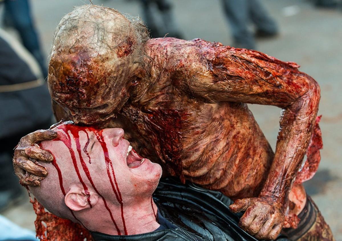 Old zombie versus freshly made