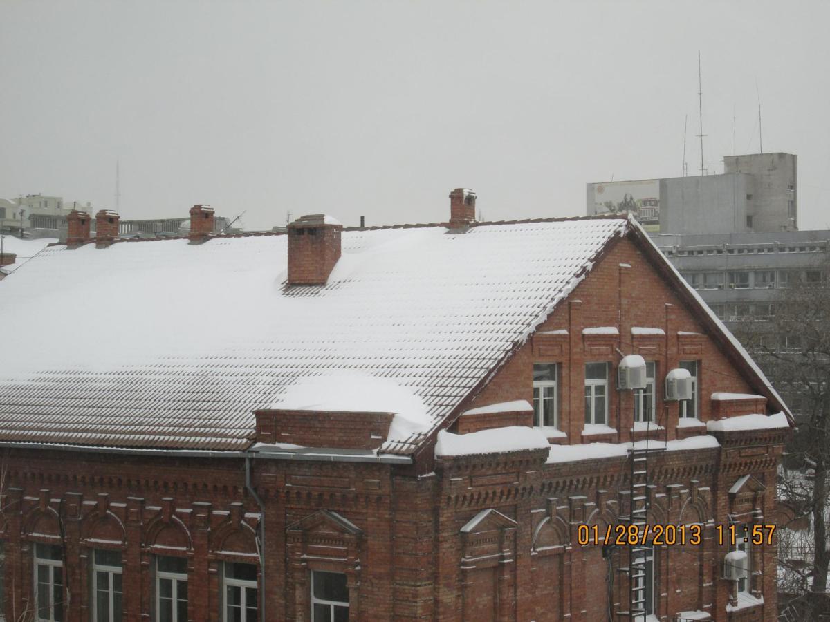 Rooftop views in Dnipropetrovsk Oblast, Ukraine