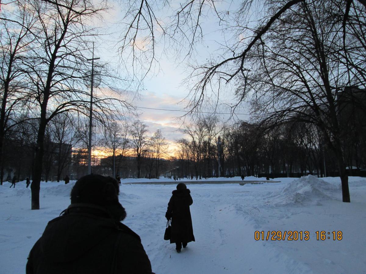 A beautiful evening in the Ukraine