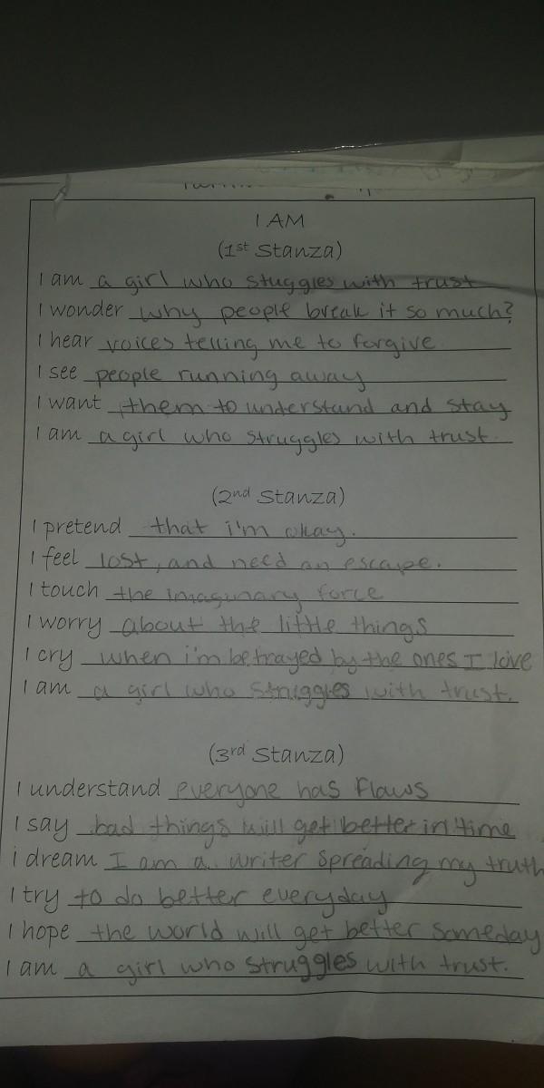 Handwritten by: Mia Rose