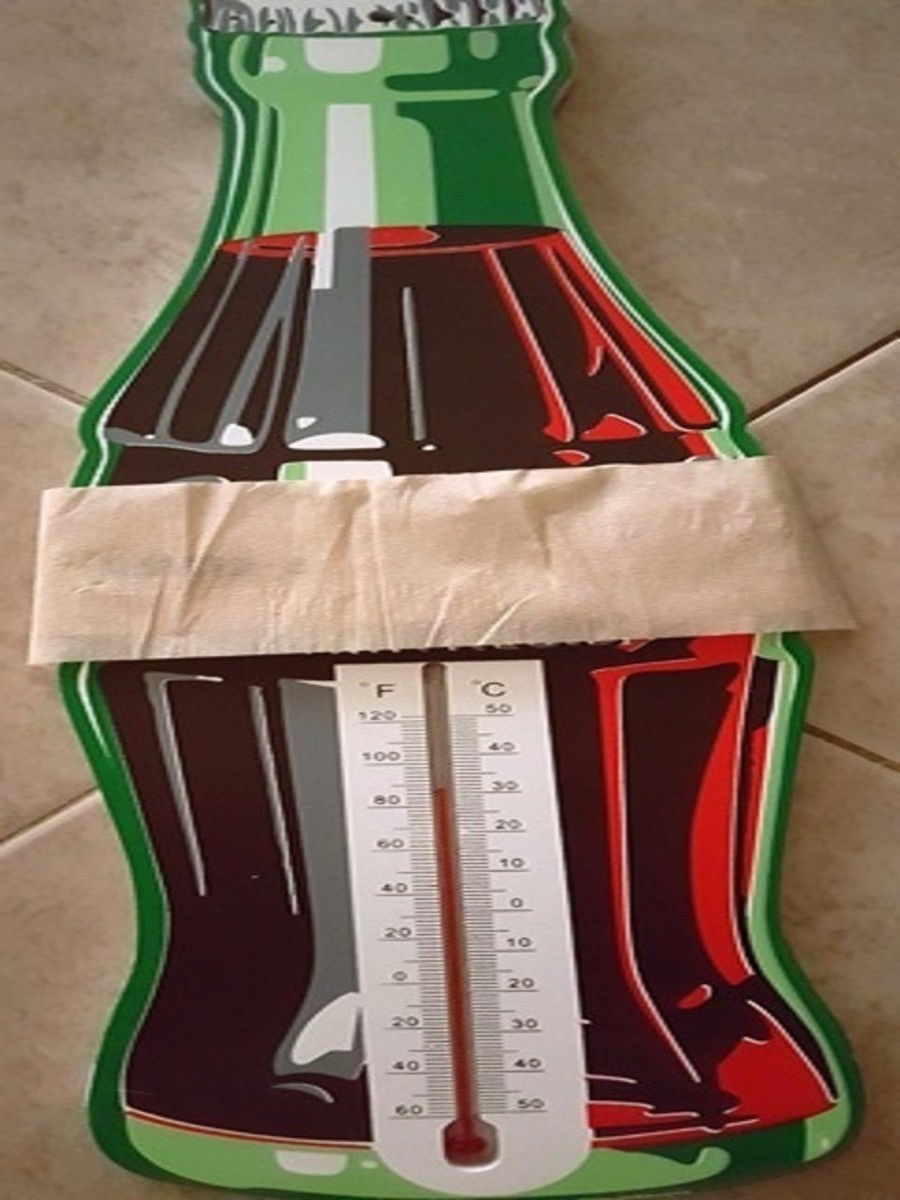 Room Thermometer (Soda Bottle)