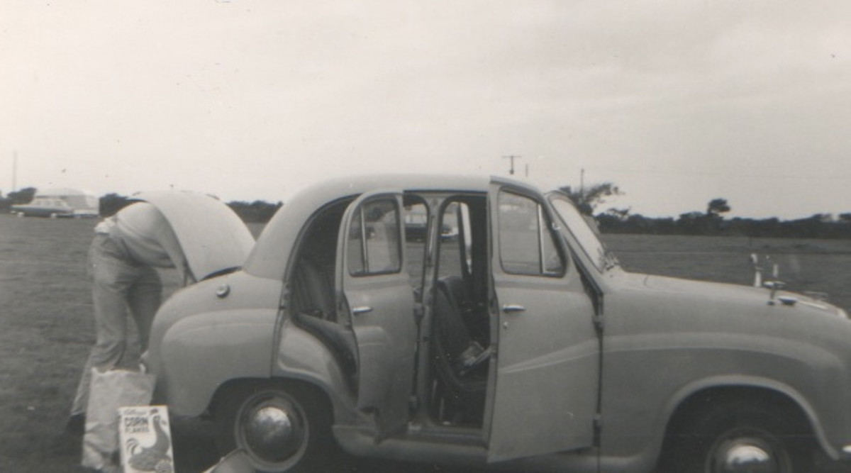 My First Car - Austin A30, c1970