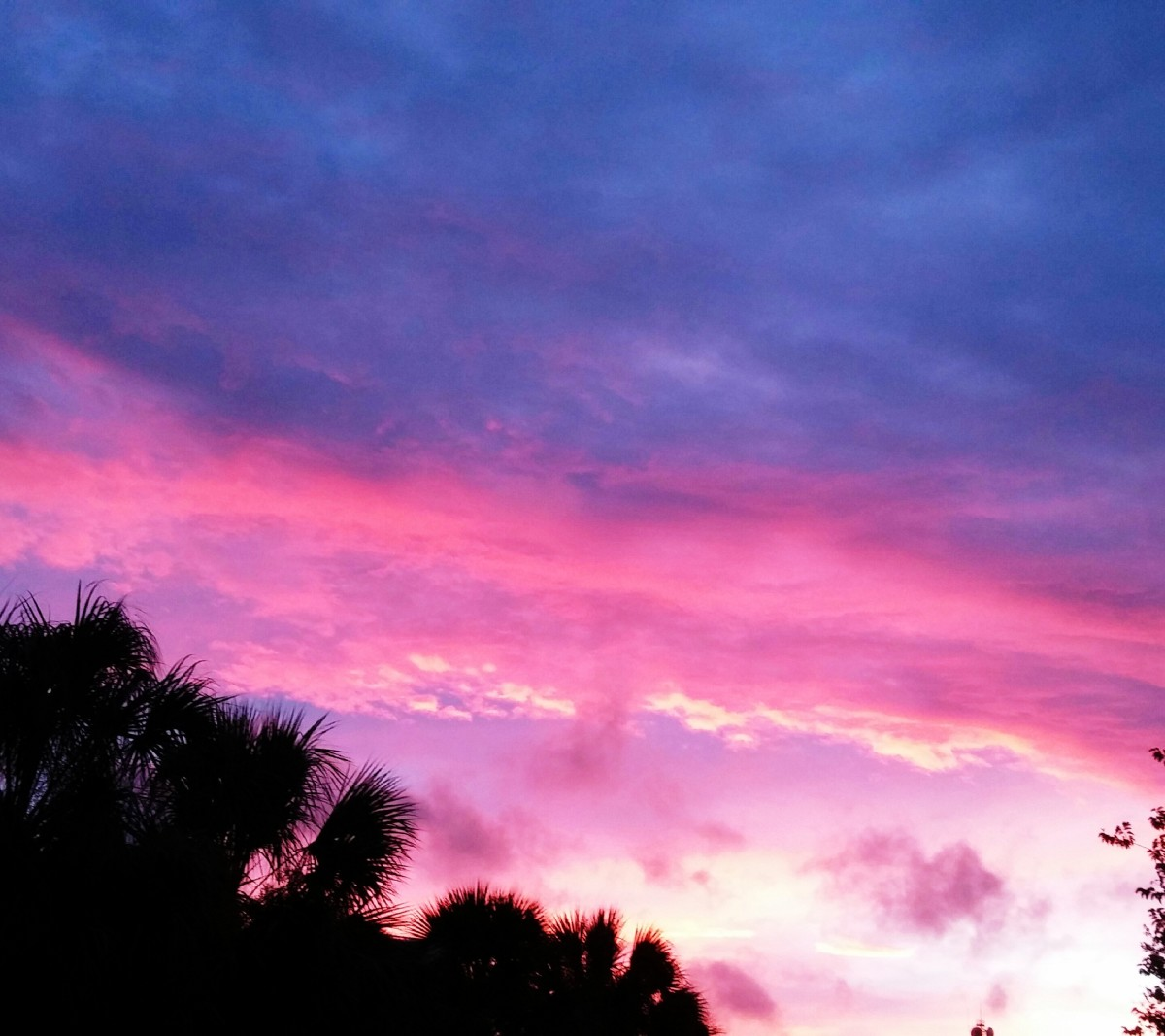 Divine presence can be found in the radience of a sunset.