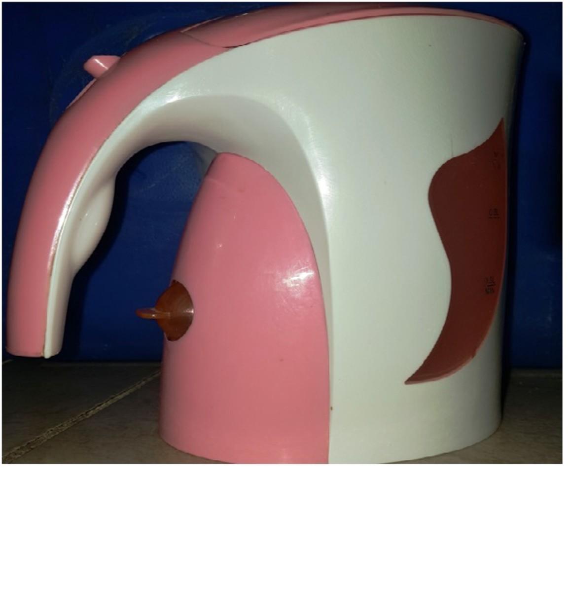 Pink Kettle (Water Heater Jug)