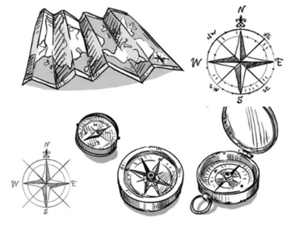 Map and Compasses