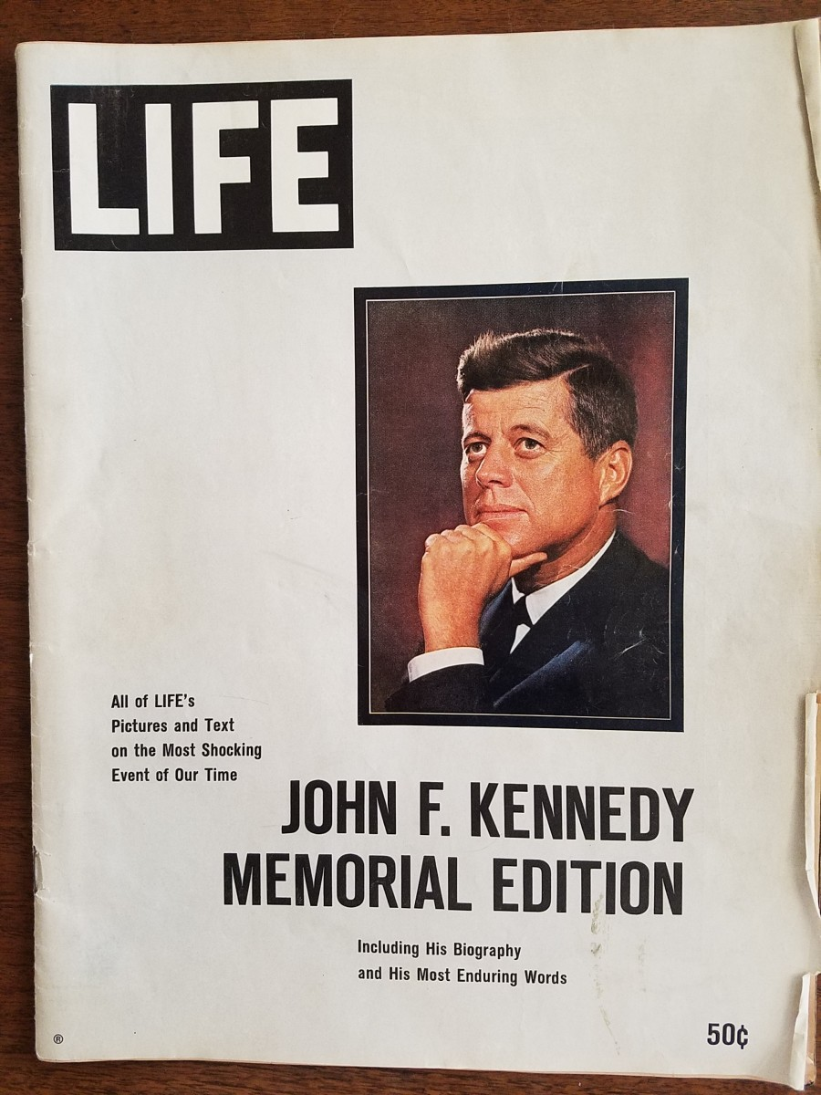 Vignettes of a Baby Boomer Part 10. The Death of a President