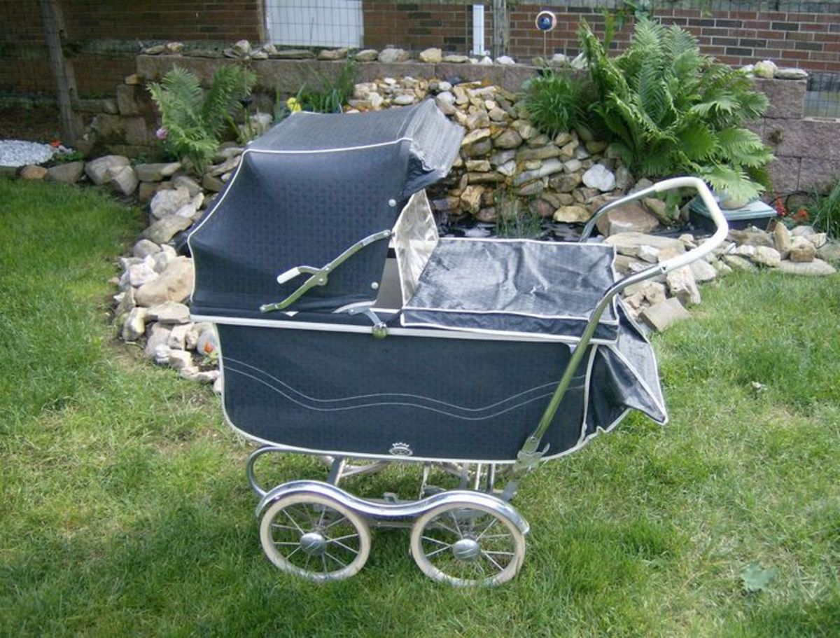 Stroller from the 1960s