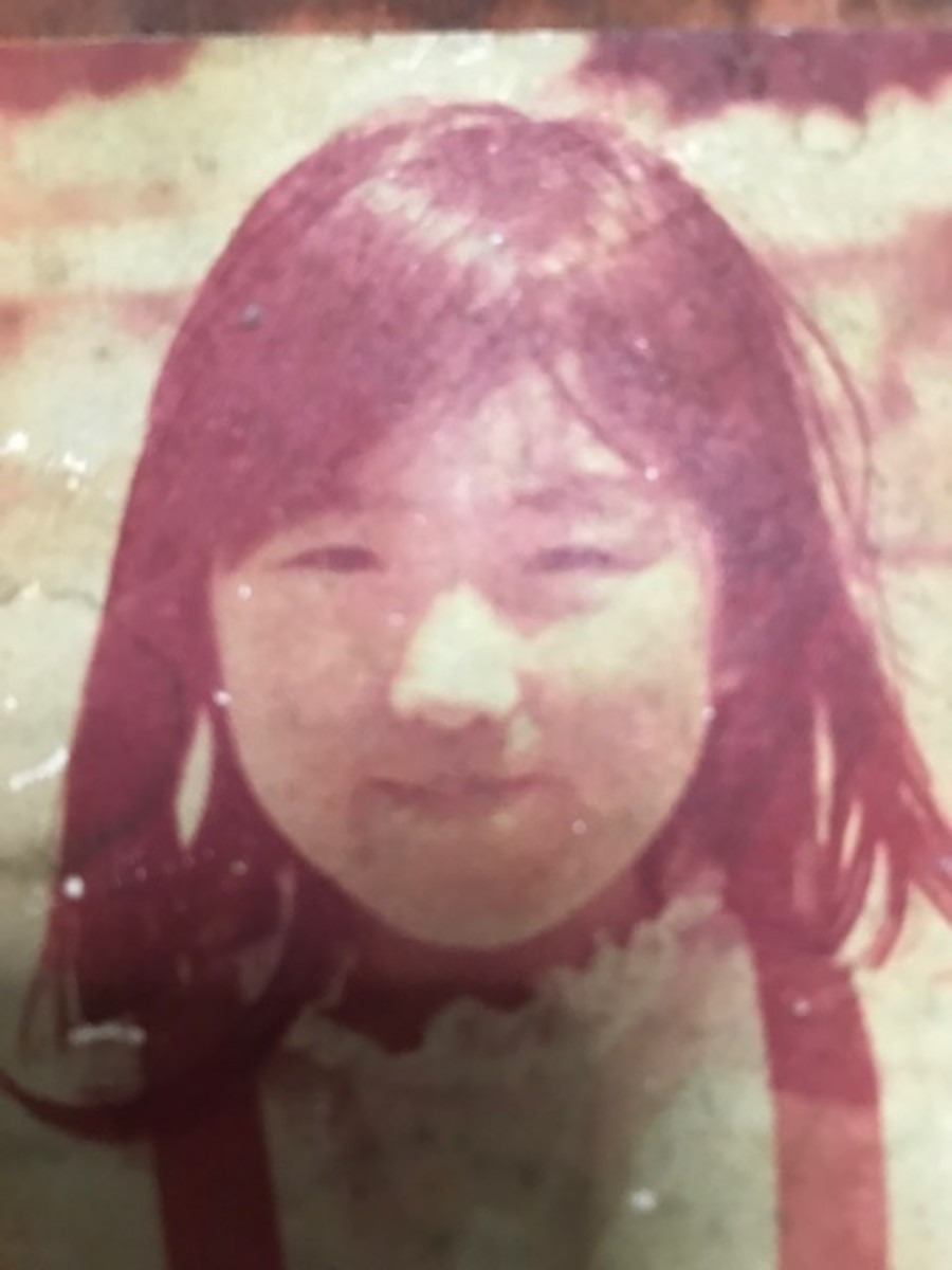 Me at age 6.  Culver City, California. May 1973