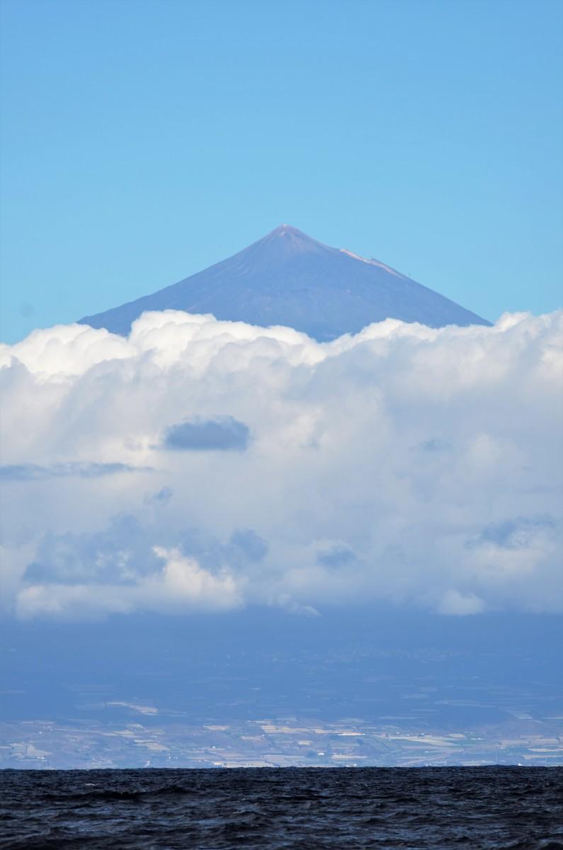 Mt Teide from La Gomera