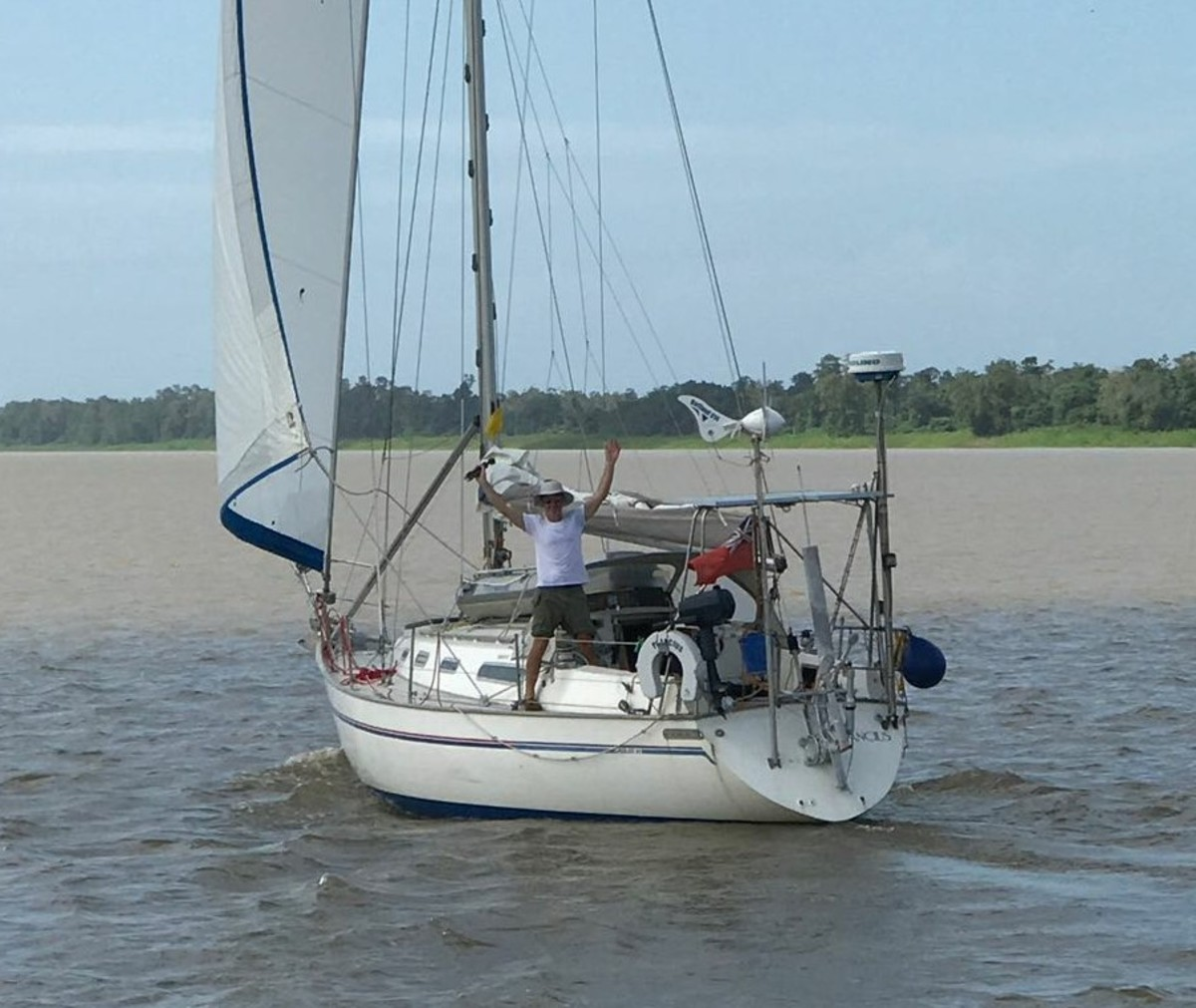 On the Suriname River at Dombourg