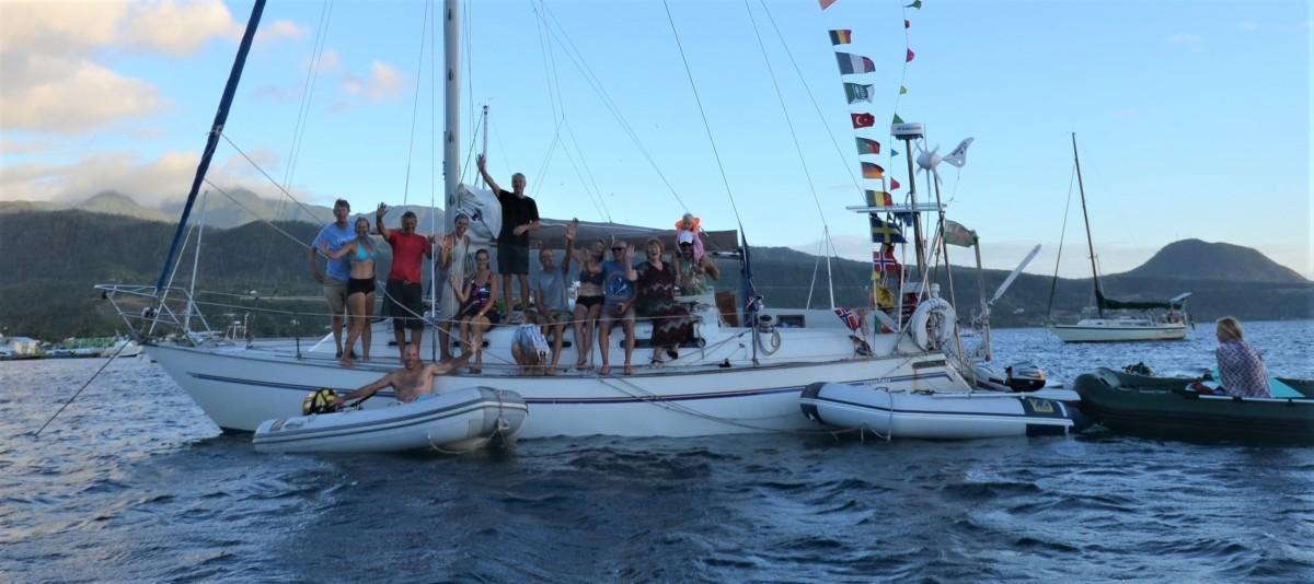 The birthday boat, Dominica