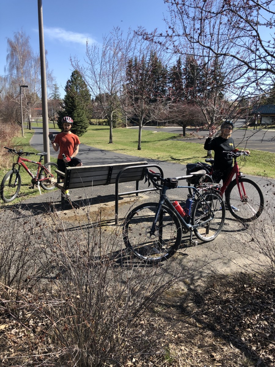 A family ride where all are on an even par, thanks to adding an e-bike to the mix