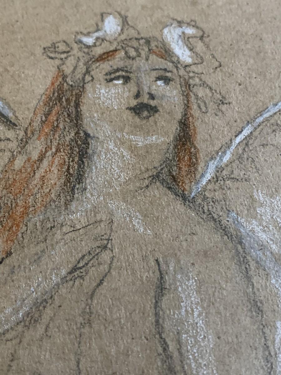 Zaftig Angel by Alice Tulin