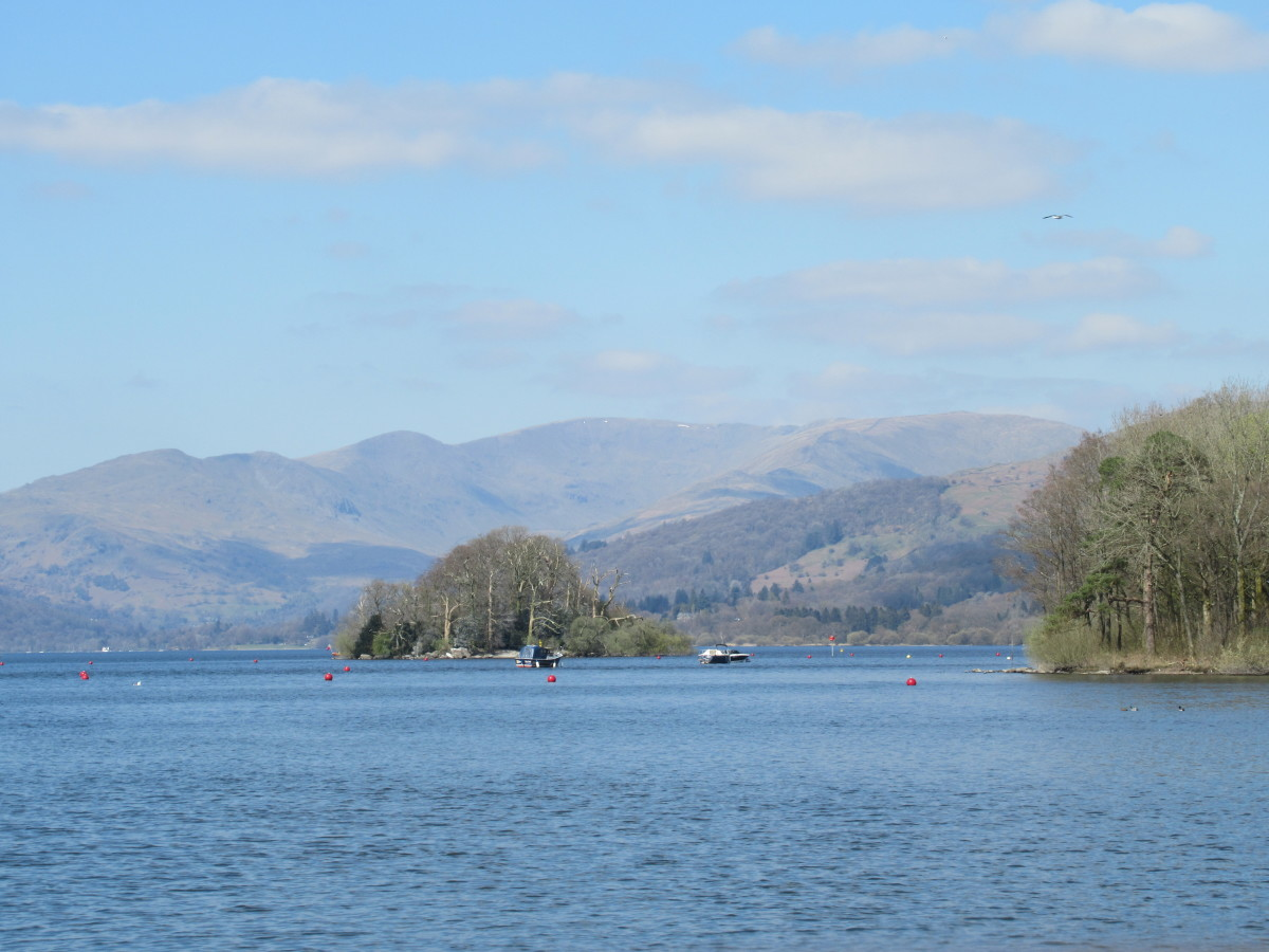 To the North of Lake Windermere