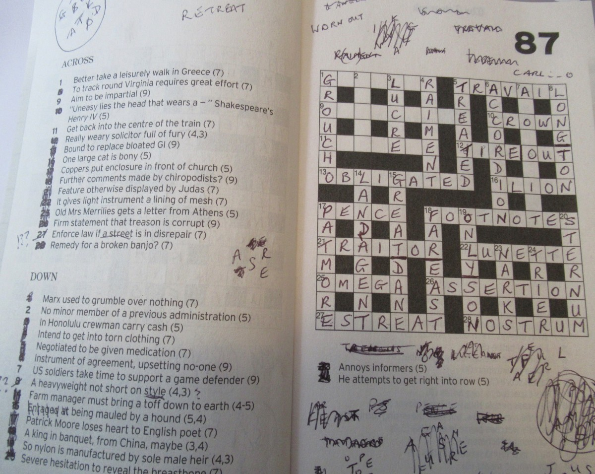Daily Telegraph Crossword