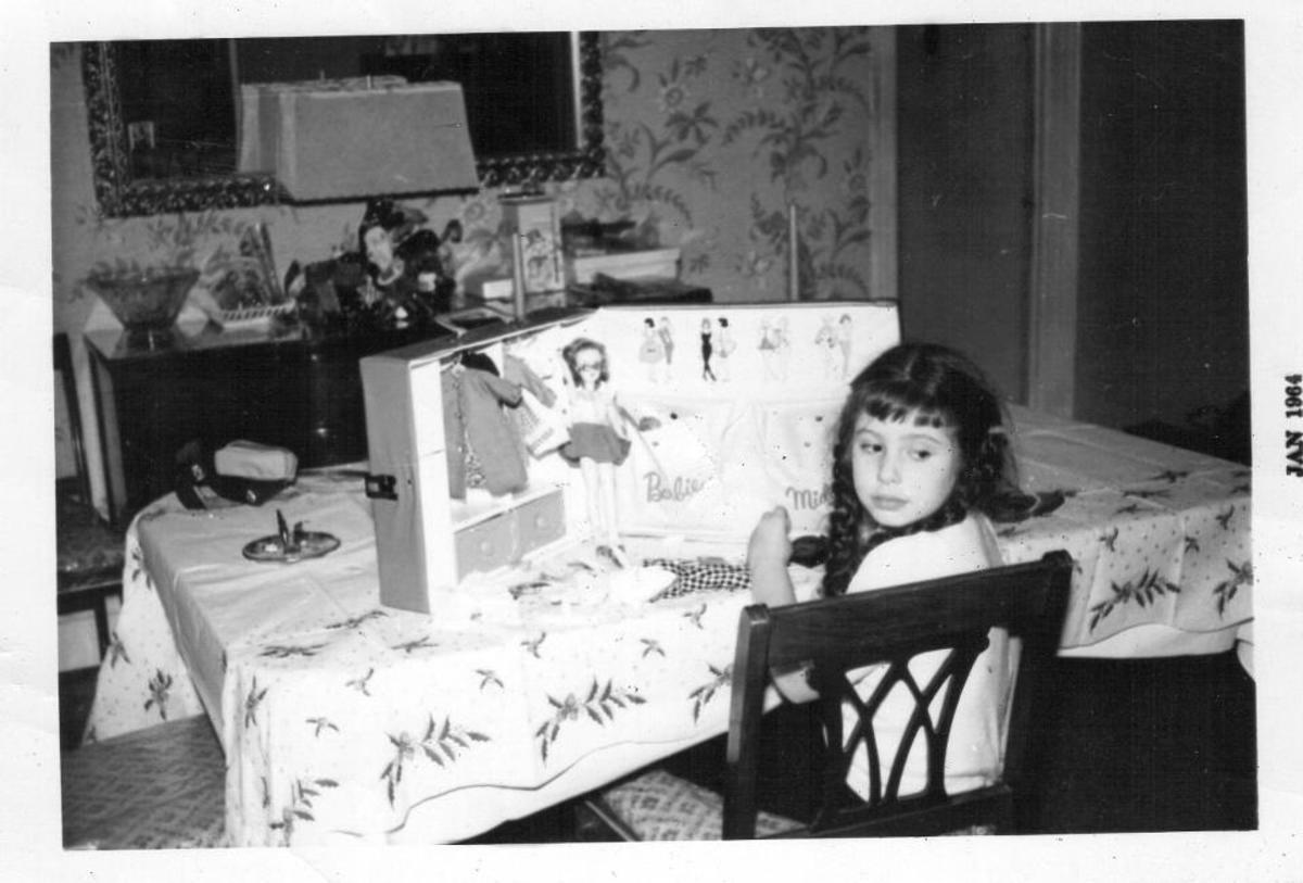 My first fashion doll
