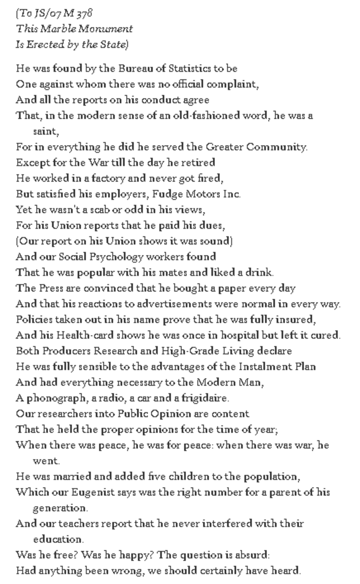 analysis-of-poem-the-unknown-citizen-by-whauden