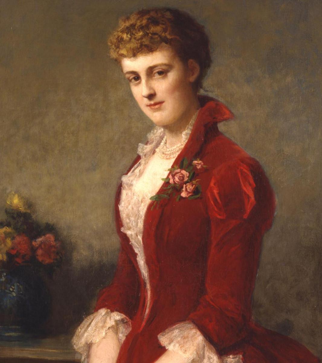 Painting of Edith Wharton
