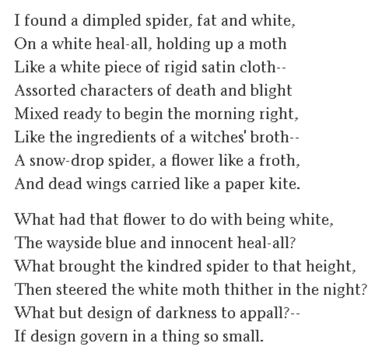 analysis-of-poem-design-by-robert-frost
