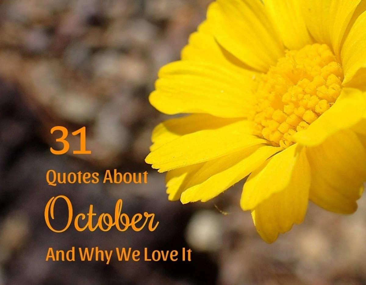 31 Quotes About October and Why We Love It