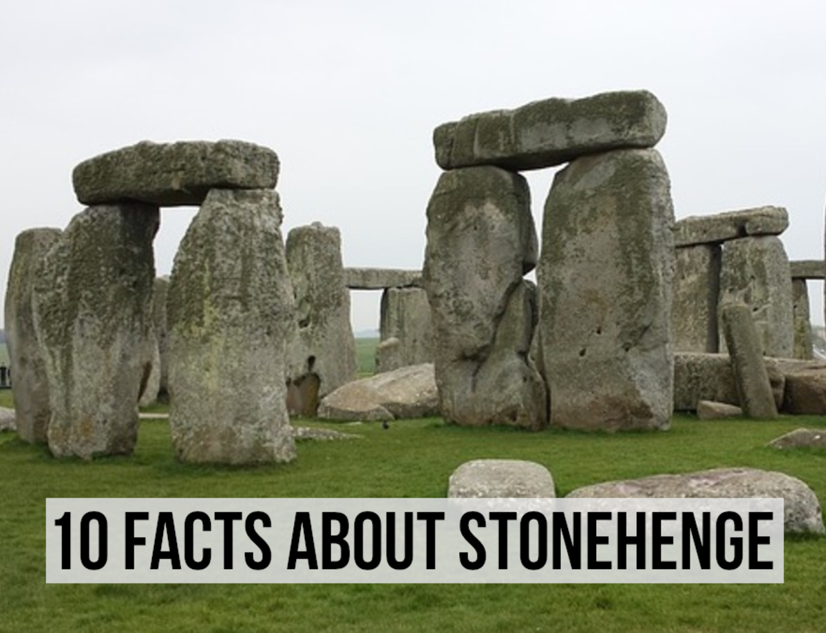 For my facts about Stonehenge, one of the most famous prehistoric monuments in the world, please read on...