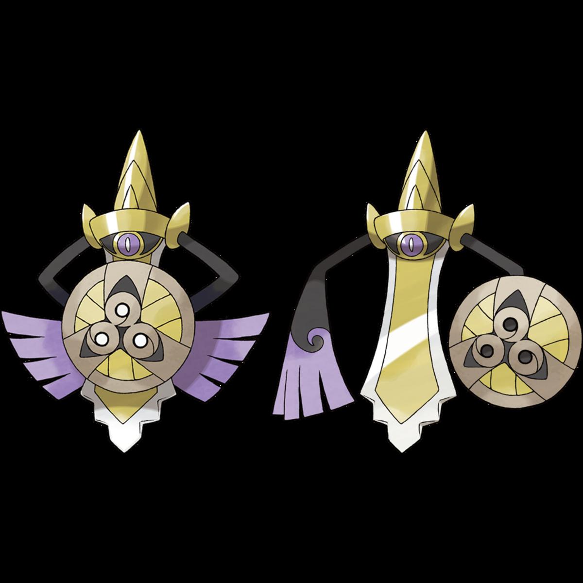 Aegislash Shield and Blade Forme