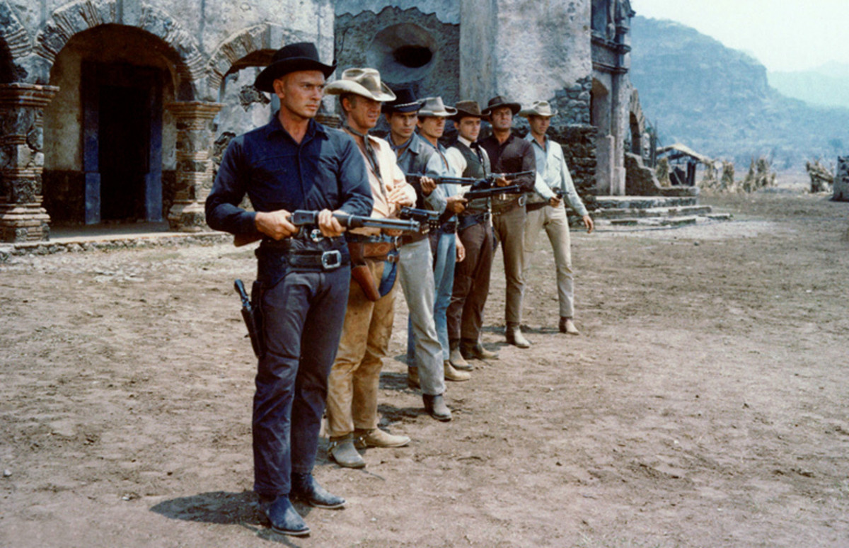 "Scene from ""The Magnificent Seven"""