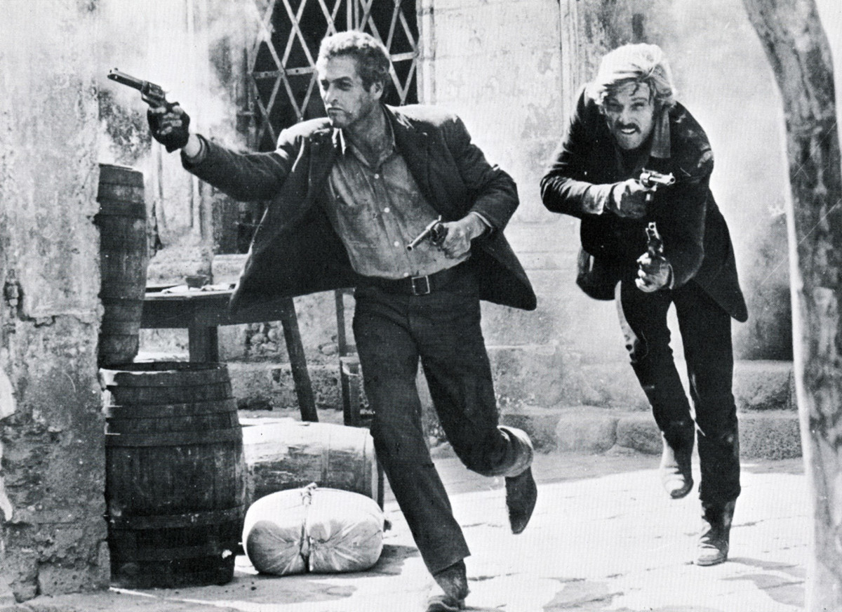 "Scene from ""Butch Cassidy and the Sundance Kid"""